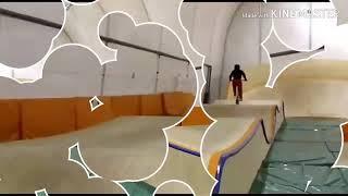 2 видео в одном/bmx race
