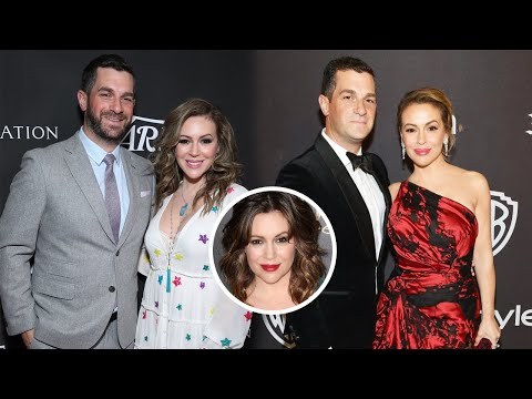 Alyssa Milano Family Video With Husband Dave Bugliari