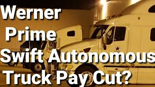 Truck Drivers Pay Cut 60%? - Video Youtube