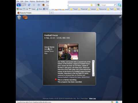 Remote Potato Streams Windows 7 Media Center Video To Your Browser