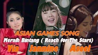 Meraih Bintang Kolaborasi 3 Bahasa - Via, Janinne Dan Aseel
