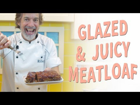 How to Make a Glazed and Juicy Meatloaf – Recipe Video