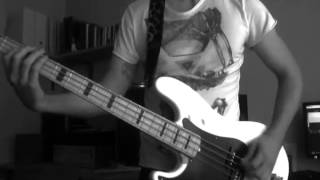 BARONESS - Take My Bones Away (bass cover)