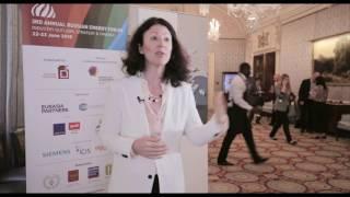 Ellen Pinchuk, Mikhailov & Partners, Russian Energy Forum, London 2016