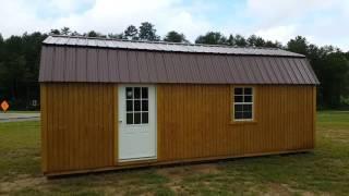 Lofted Barn Garage 12 x 24
