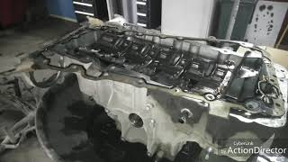 """Range Rover """"MAMA"""" 4.4D  Замена поддона ДВС не по технологии... чем грозит?"""
