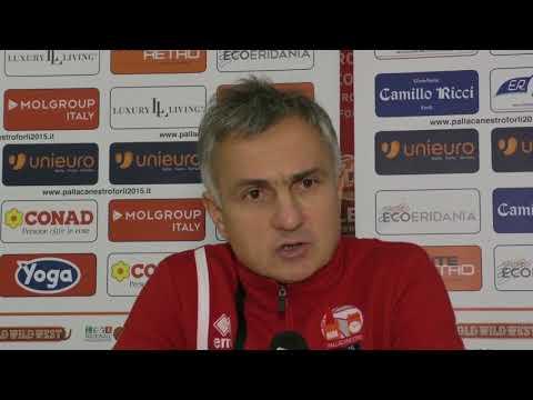 Forlì-Udine 67-70 | Sala stampa