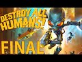 Destroy All Humans Remake Final pico Xbox One X Playthr