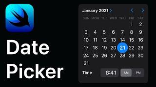 SwiftUI - DatePicker Tutorial