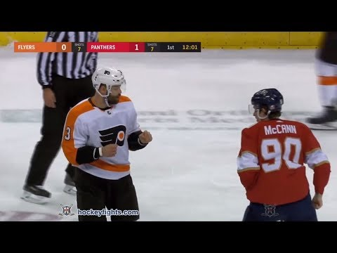 Radko Gudas vs Jared McCann