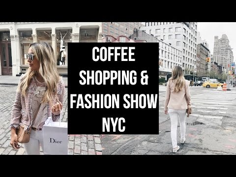 COFFEE DATE & COME SHOPPING WITH ME! DIOR,  ZARA! ALEX AND MICHAEL