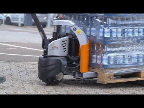 Niederhubwagen ECH 12 - Einfach startklar