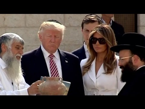 President Trump Visits Western Wall in Israel & Gives Speech ( FULL )