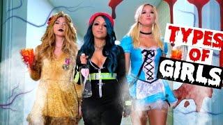Types Of Girls On Halloween