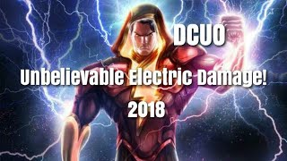 dc universe online electricity powers detailed look most