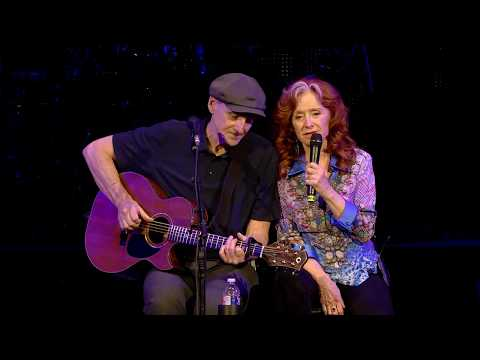 James Taylor & Bonnie Raitt – You Can Close Your Eyes