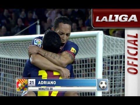La Liga   FC Barcelona - Celta de Vigo (3-1)   03-11-2012   J10   Resumen