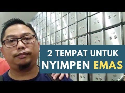 mau nyimpen EMAS dimana yaak?
