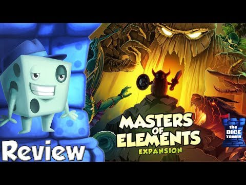 Vikings Gone Wild: Masters of Elements Review - with Tom Vasel