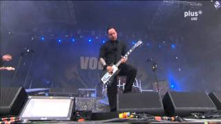 Volbeat 2011 LIVE Heaven Nor Hell Rock Am Ring+lyrics