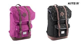 """Рюкзак молодежный Urban K18-899L-2 от компании Интернет-магазин """"Радуга"""" - школьные рюкзаки, канцтовары, творчество - видео"""
