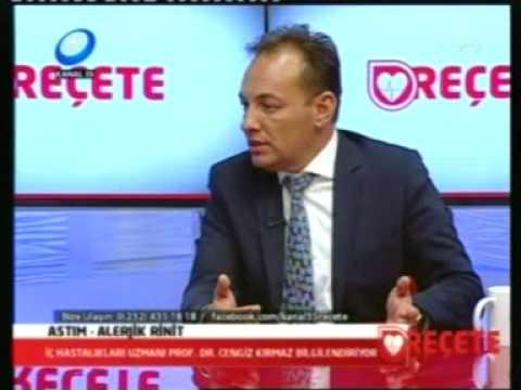 18.05.2015 Alerjik Rinit ve Astım Kanal 35 Canlı yayın