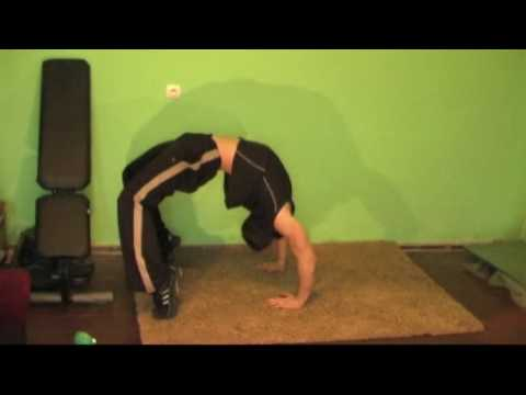 Rozciąganie mięśni trapezowych