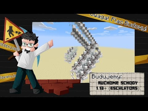 Ruchome Schody 1 13 Escalators Minecraft Project