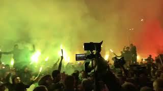 Konyaspor taraftarından Aykut Kocaman'a muhteşem karşılama