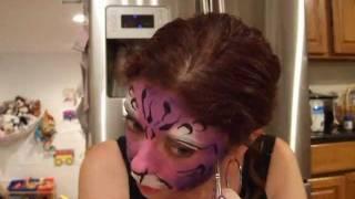 Face Painting Tutorial: Fantasy Cat