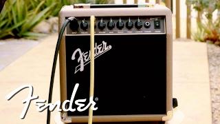 Fender Acoustasonic 15 Video