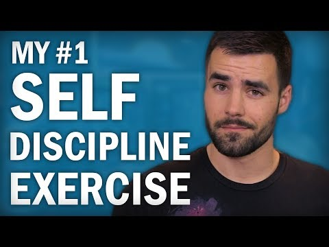 How to Build Self Discipline - My #1 Exercise - YouTube