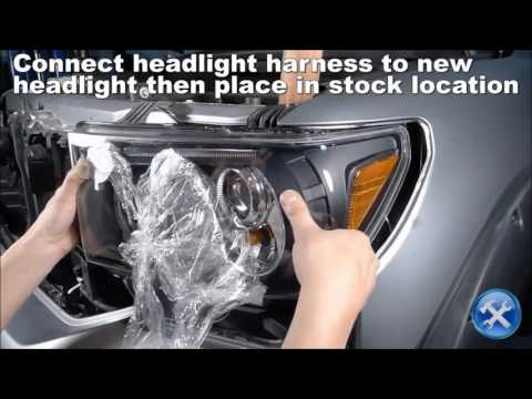 Spec-D Toyota Tundra Projector Headlight Installation Mp3