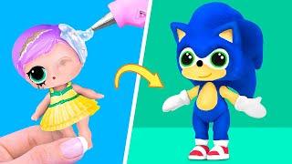 Nie Zu Alt Für Puppen! 10 Barbie  Und Lol Überraschungs Diys