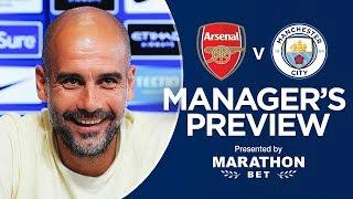 Arsenal v Man City | Pep Guardiola's pre-match press conference