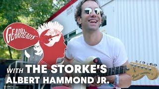 The Stroke's Albert Hammond Jr. Talks About His Japanese Fender Stratocaster Guitar | Gearheads