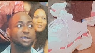 """YOUR SHOE IS MADE IN ABA"" Davido tells Akpororo, Davido's friend took Akpororo's joke personal."