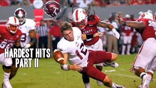 Hardest Hits of the 2015-16 College Football Season || Part 2 ᴴᴰ