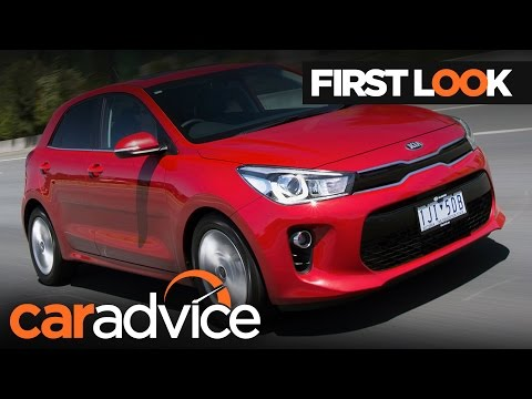 2017 Kia Rio First Look Review | CarAdvice