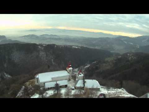 Polet z Gojške planine