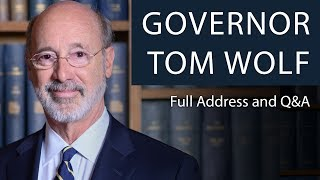 Governor Tom Wolf | Full Address and Q&A | Oxford Union