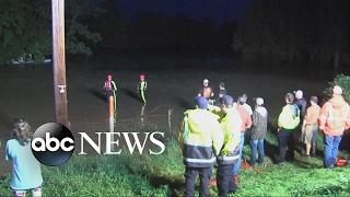 Two children swept away in Arkansas