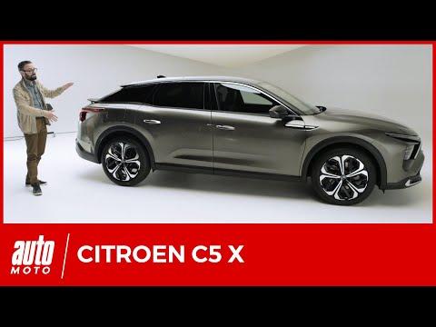 Nouvelle Citroën C5 X : découverte et détails, premier avis