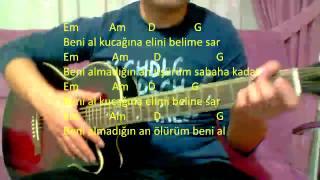 Gitar Dersi - Beni Al (Pinhani)