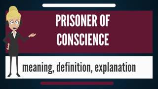 What is PRISONER OF CONSCIENCE? What does PRISONER OF CONSCIENCE mean?