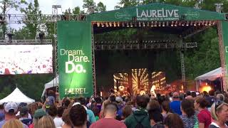 """Fitz and The Tantrums """"Fools Gold"""" @ LaureLive Music Festival - Novelty, OH - 2018.06.09"""