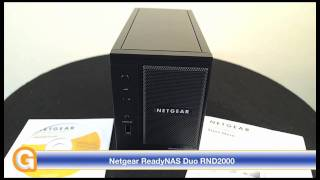 Netgear ReadyNAS Duo RND2000 Review