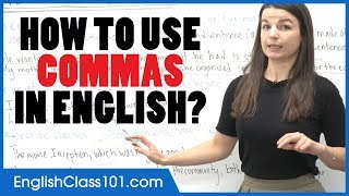 How to Use Commas in English   Punctuation Guide - Learn English Grammar