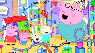 Peppa Pig Official Channel | Peppa Pig's Biggest Marble Run Challenge at Home