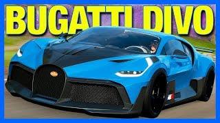 Forza Horizon 4 : The Bugatti Divo!! (FH4 Bugatti Divo Test Drive)